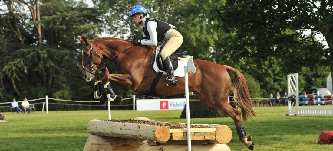 Competing at Blenheim on Imprint Sport